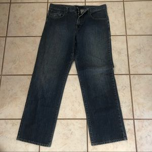 Calvin Klein jeans, relaxed straight, 34×32